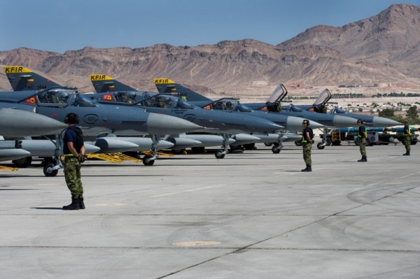 KFIR_FAC_at Nellis Air Force Base