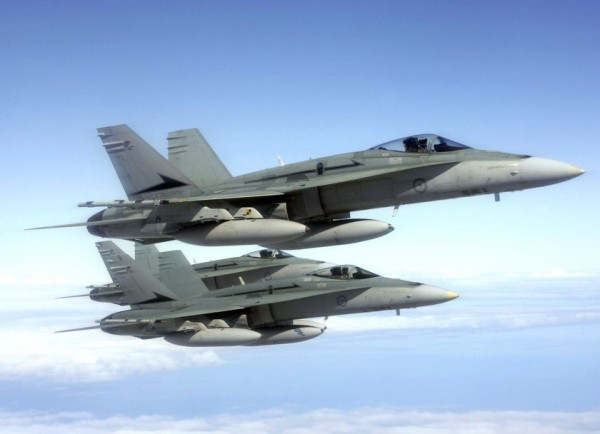 F-18 Hornet_RAAF