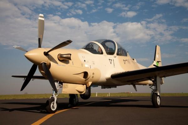 A-29 Super Tucano Força Aérea da Mauritânia