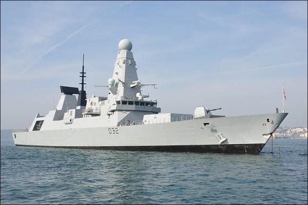 Type 45 HMS Daring Foto BBC News