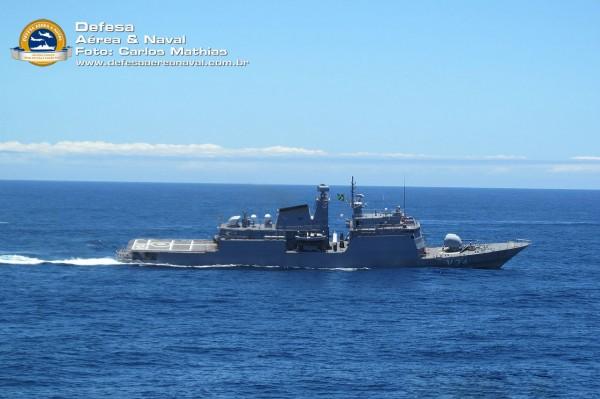 Corveta Barroso - Operação atlântico III em manobras-2