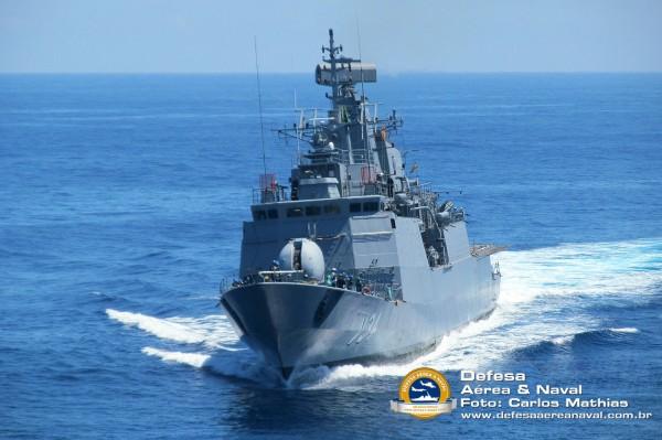 Corveta Barroso - Operação atlântico III em manobras - 4