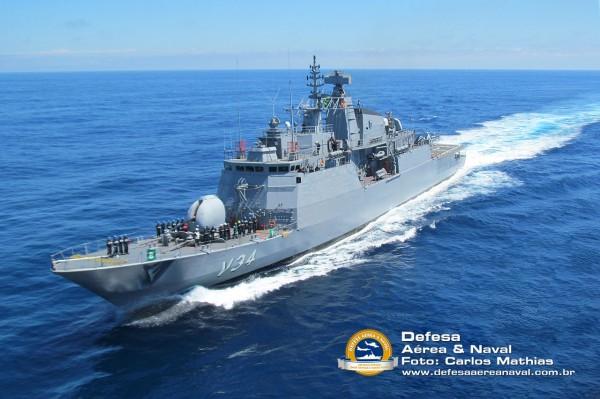 Corveta Barroso - Operação atlântico III em manobras - 5