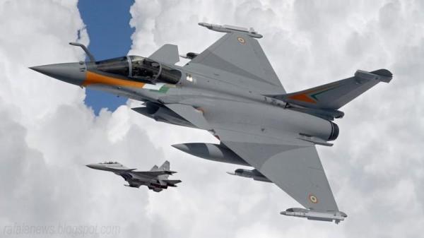 Concepção artística do Rafale IAF