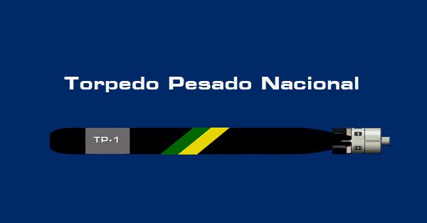 Esboço de como poderá ser o Torpedo Pesado Nacional TP-1 MB - Luiz Padilha
