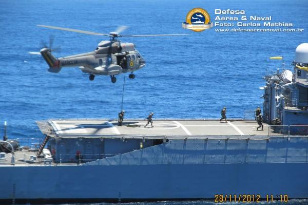 UH-14 - Operação Atlântico III - MECs