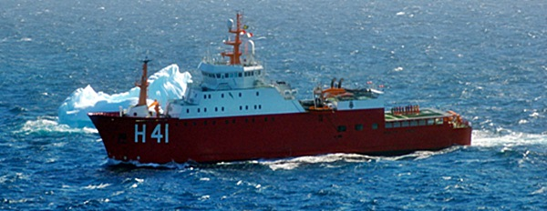 """Navio Polar """"Almirante Maximiano"""""""