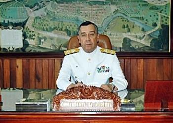Comandante da Marinha do Brasil - AE Julio Soares de Moura Neto