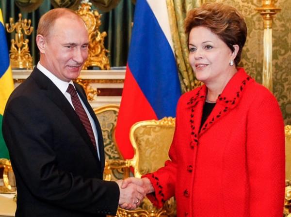 Dilma Rousseff e Putin