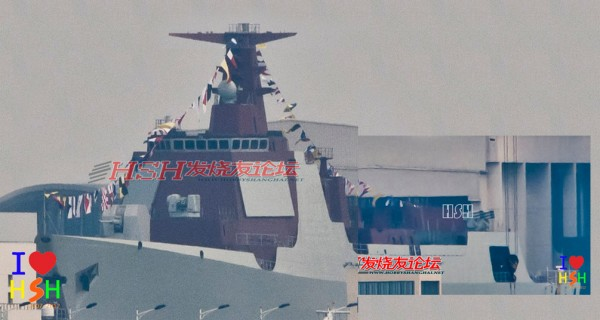 Type 052d HHQ-9 destroyer class Lanzhou People's Liberation Army Navy china Active Electronically Scanned Array(AESA) Type 730 CIWS C-805 602 anti-ship land attack cruise missiles 4th 173 1723456789 (9)