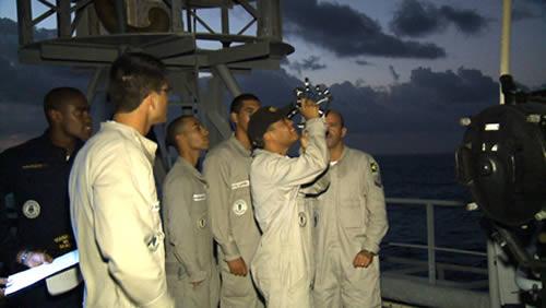 Adestramento de navegação astronômica