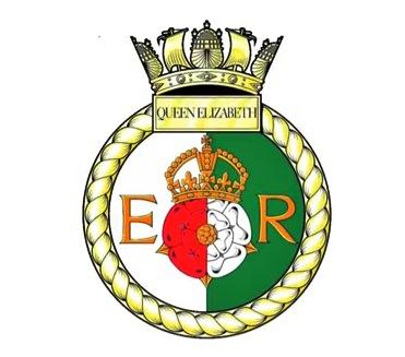 Brasão do HMS Queen Elizabeth
