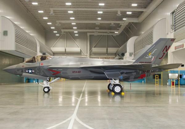 F-35C Fighter Attack Squadron 101 (VFA-101)