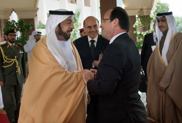 UAE-FRANCE-DIPLOMACY-HOLLANDE