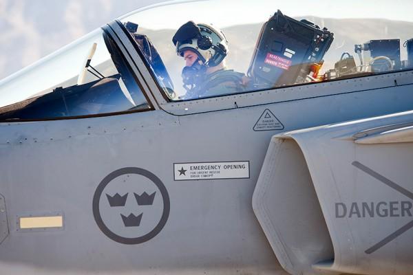 Gripen crew in Red Flag (Foto USAF)