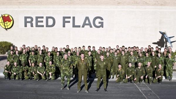 Red Flag Gripen 2013