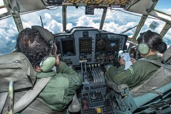 1ª Tenente Aviadora Joyce de Souza Conceição