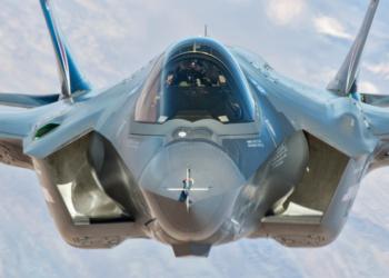 F-35A completando 500 horas de vôo