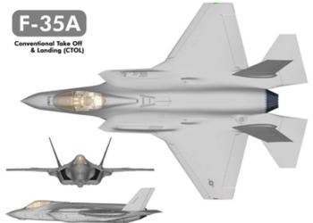 3 Vistas do F-35A