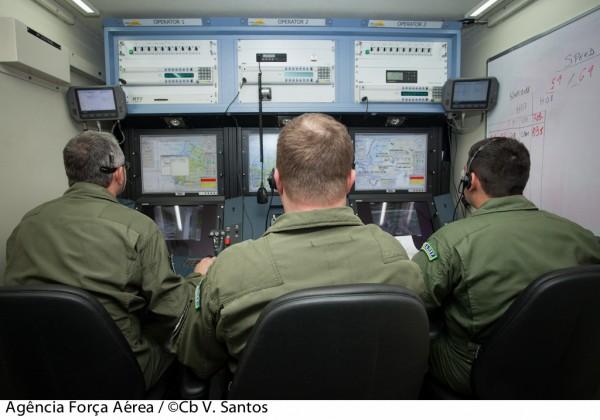Estação de Comando dos VANTs