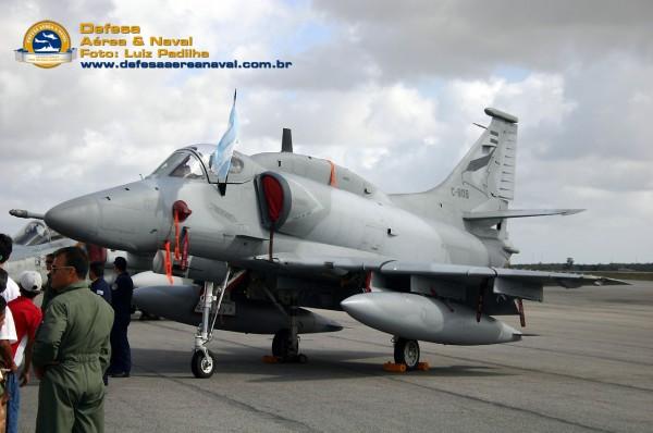 A-4 argentino estático