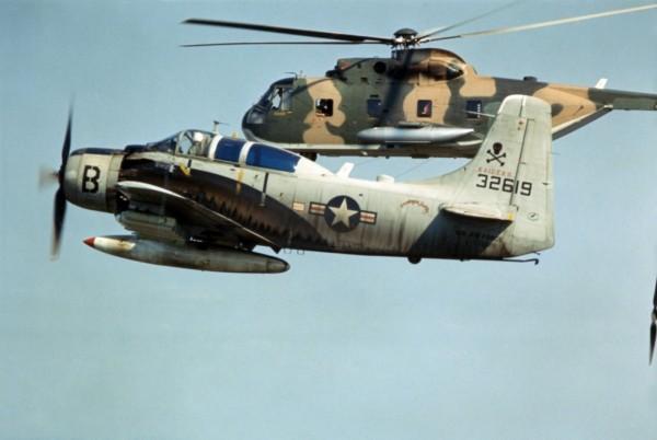 """Sandy"" A-1, CH-53"
