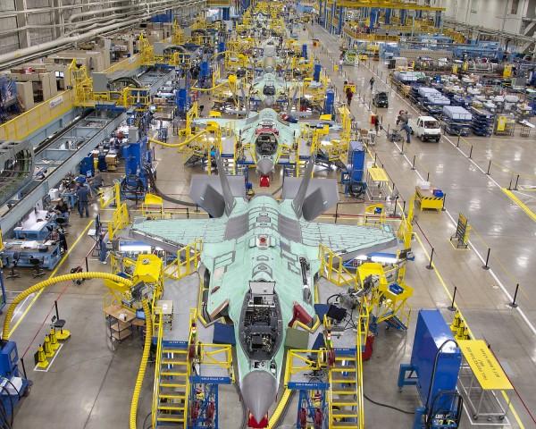 Linha de Produção F-35