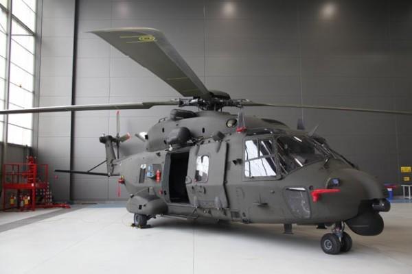 Primeiro NH90 TTH do Exército italiano