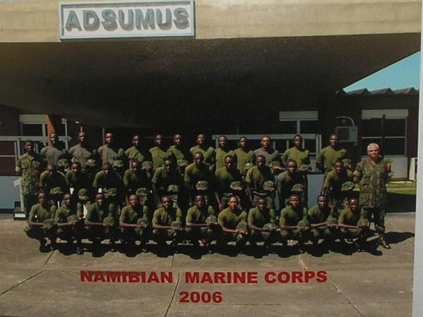 NamíbiaMarine Corps