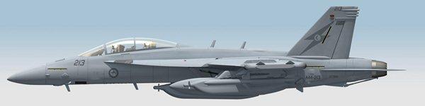 RAAF-EA-18Growler-Lside