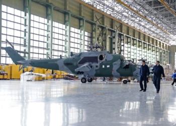 Mi-35 na fábrica da