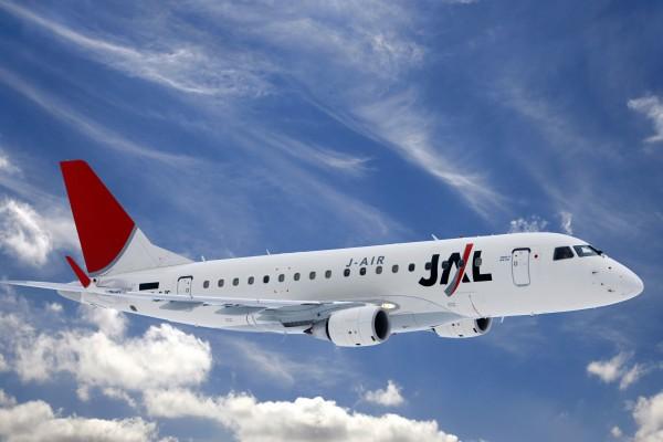 E170 nas cores da JAL