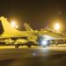 Carregado com bombas GBU-12 e um pod Damocles, um Rafale sai de St. Dizier nas primeiras horas de 13 de Janeiro, a caminho de alvos no Mali.