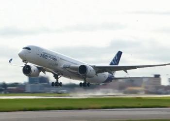 Primeiro vôo do A350
