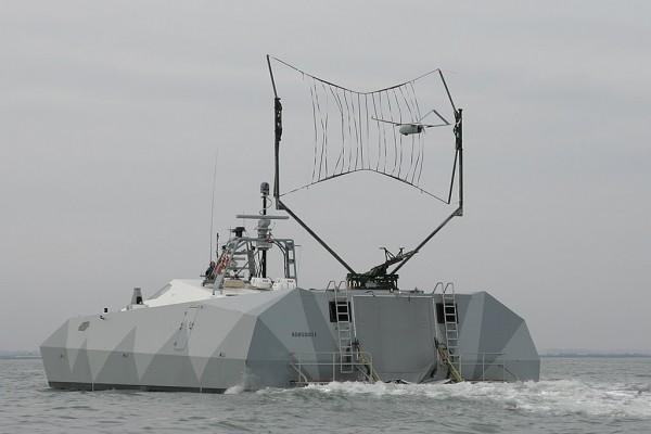 M80 recuperando UAV