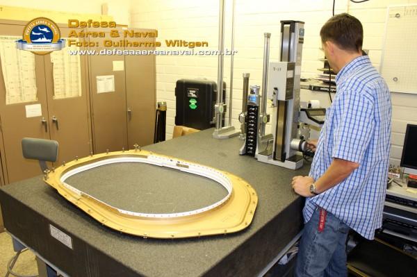As peças fabricadas na UAC passam por um controle rigido de quaidade