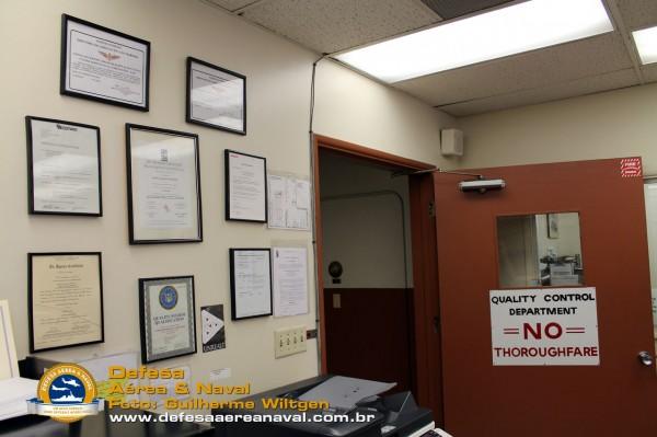 Todas as certificações podem ser vistas no setor de Controle de qualiadade da UAC.