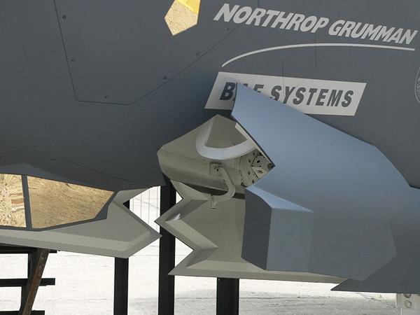 F 35 Detalhe