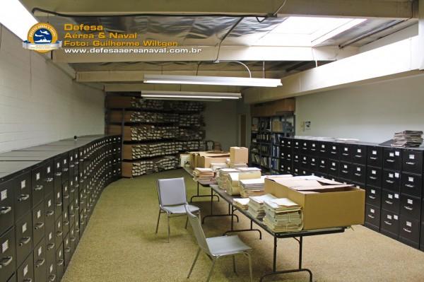 Parte da biblioteca técnica