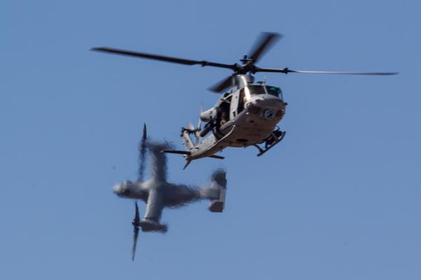 UH-1Y e MV-22