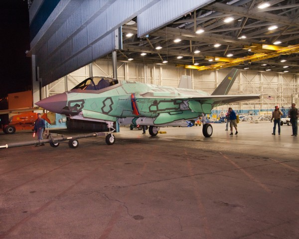 F-35 Lightning II for the Netherlands rolled out