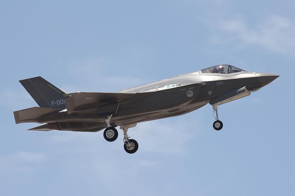 F-35A F001