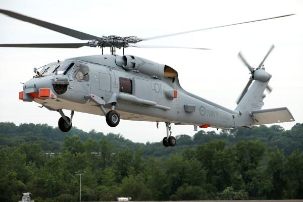 Australia's first MH-60R Seahawk Romeo aircraft