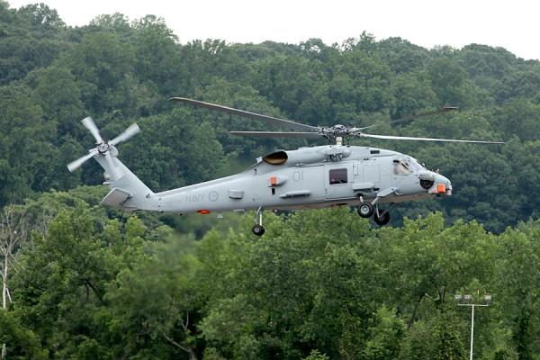 Australia's first MH-60R Seahawk Romeo