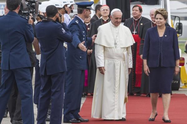 Papa Francisco com Dilma - Foto (c)enilton_kirchhof