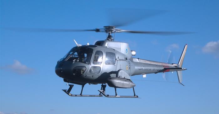 UH-12 Esquilo do Esquadrão HU-5