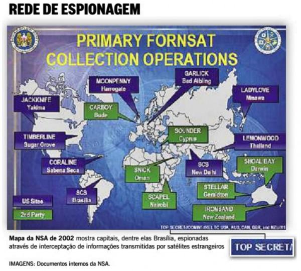 rede espionagem