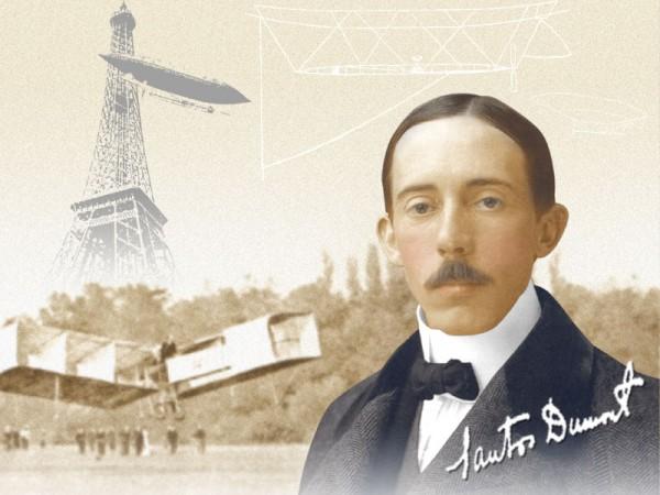 """20 de julho – Aniversário de Alberto Santos Dumont, o """"Pai da ..."""