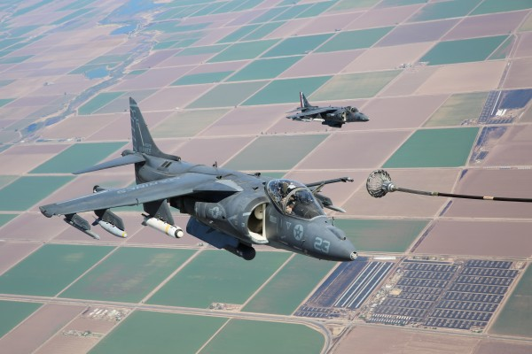 Refueling the F-35B Lightning II with VMGR-352