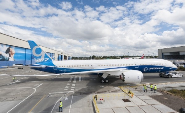787-9 Factory Rollout - August 24, 2013